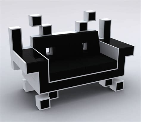 coolest couches space invader couch