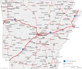 Arkansas Map Usa by Arkansas Big Cities Map