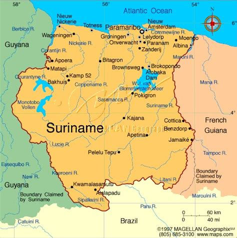 map of suriname south america map of suriname south america suriname south america
