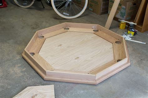 octagon poker table part  subtable  playing surface