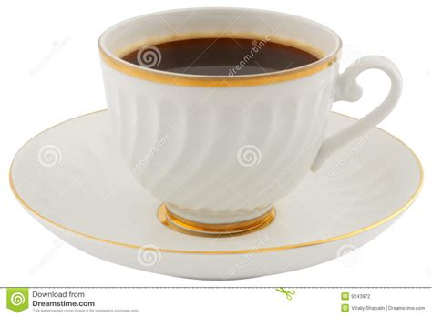 Coffee Cup With Saucer coffee cup and saucer stock photography image 9243972