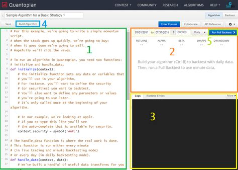 python zipline tutorial python programming tutorials