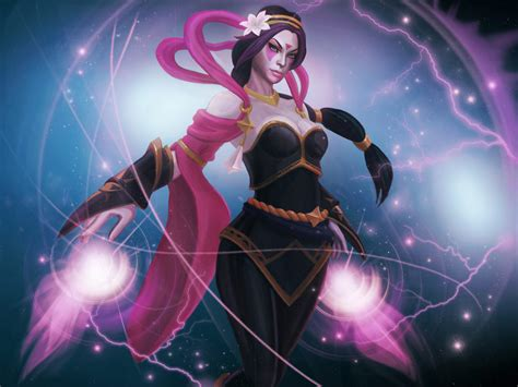 templar assassin magic girl roles carry escape dota  hero