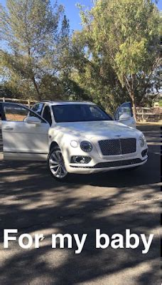 tyga bentley truck kylie jenner surprises tyga with a bentley truck
