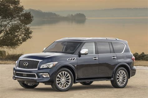 infiniti car qx80 2017 infiniti qx80 offers more comfort safety kit