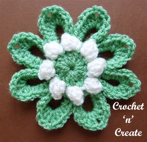 Free Address Finder Uk From Name Crochet Popcorn Flower Uk Free Crochet Pattern Crochet N Create