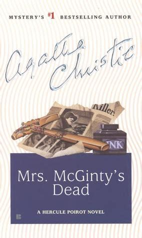 Agatha Christie Mrs Mc Ginty Sudah Mati mrs mcginty s dead by agatha christie book reviews forevermore