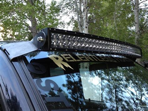 led light bar lock led roof light bar home design ideas and pictures