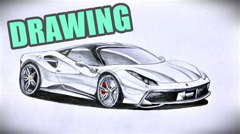 ferrari drawing how to draw a ferrari f430 www pixshark com images