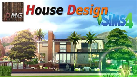 Cool House Layouts by The Sims 4 House Design Tour Modern Tropicana Youtube