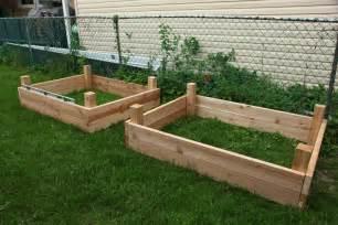 woodworking plans build your own raised planter box pdf plans