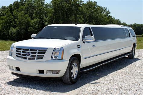 escalade limousine white cadillac escalade limousine