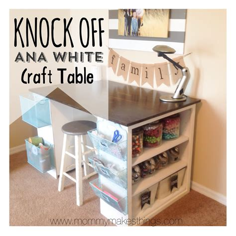 diy craft room table diy white craft table knock for 75 by
