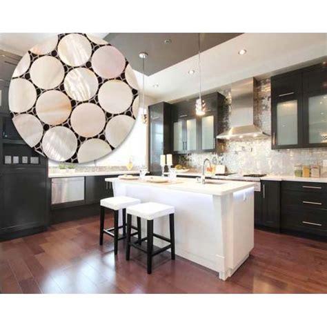 mirror tile backsplash kitchen of pearl kitchen backsplash