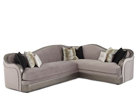 aico sofas hollywood swank sectional sofa by aico aico living room