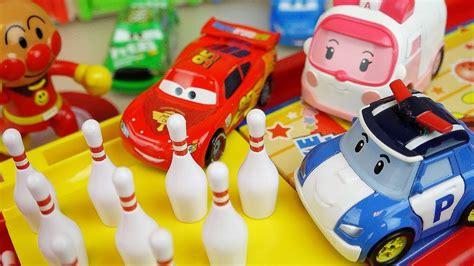 Robocar Poli Car Park robocar poli car toys and bowling with cars truck