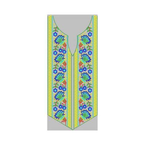 design line embroidery neck line embroidery design 22