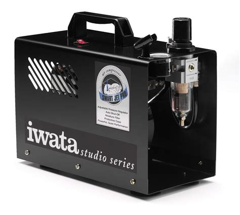 iwata smart jet pro compressor with automatic shut
