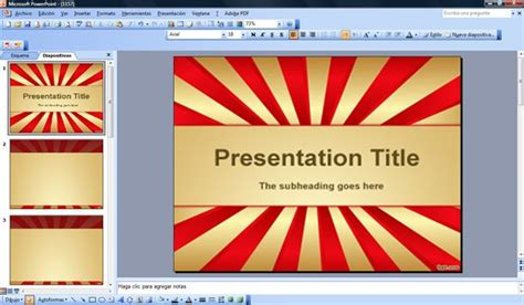 Powerpoint Themes Carnival | grandiose powerpoint template