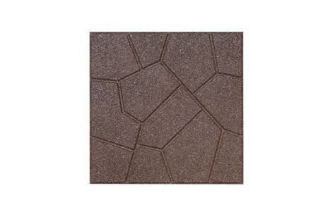 Flagstone Rubber Pavers   Durable Outdoor Floor Surface