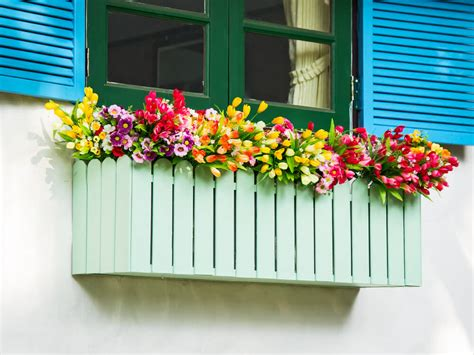 Flower Box 3 40 window and balcony flower box ideas photos