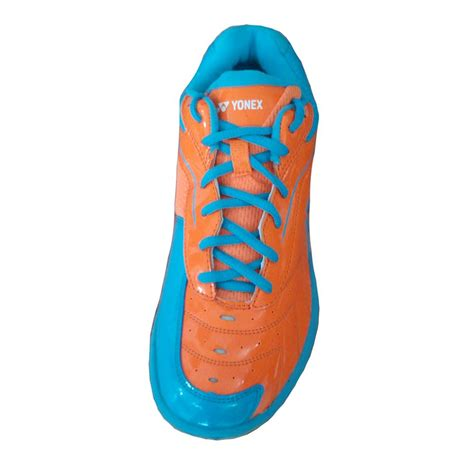 Sepatu Badminton Yonex Srci 65 R yonex tru cushion srci 65r badminton shoes orange and blue