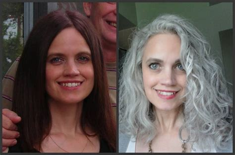 grey hair pics before and after 103 best images about grey hair on pinterest coloring