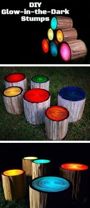 glow in the painted logs 17 best images about do it yourself on