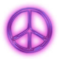 Tyrian Purple by Gallery For Gt Purple Peace Sign