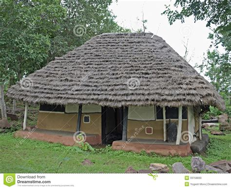 hut type house design house of gadsbaa agriculturists tribal hut stock photo
