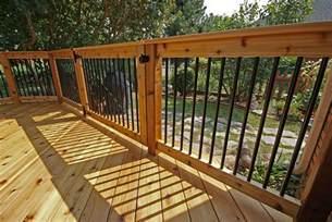 decks and railings deck railing aluminum balusters search house