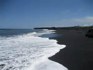 black sand beach the most beautiful accessable black sand beach in kona