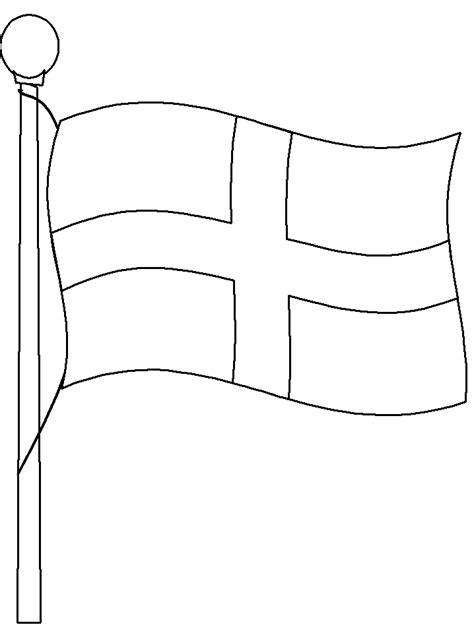 coloring page for england s flag flag4 england coloring pages coloring book