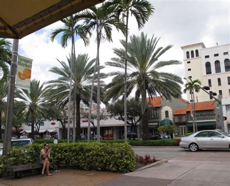 coral gables fan miracle mile coral gables maps