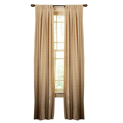 home depot curtains martha stewart martha stewart living brown alpaca ogee dot tap top