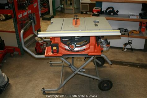 Ridgid Portable Table Saw by State Auctions Auction Fathers Day Frenzy