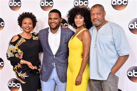 black ish tracee ellis ross and anthony anderson promote black ish