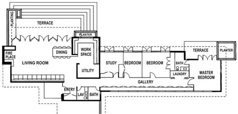 usonian floor plans 28 usonian house plans joseph 187 usonian
