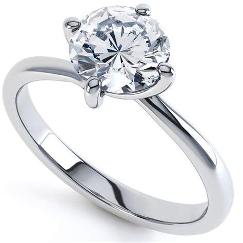 twist twisted engagement ring serendipity diamonds