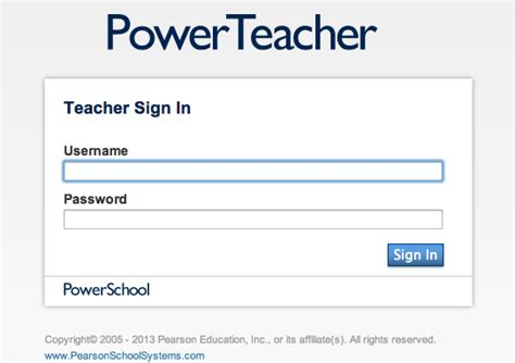 powerteacher login lms home