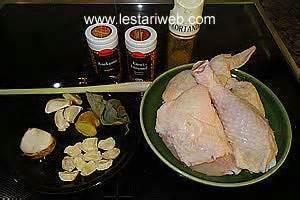kumpulan resep asli indonesia ayam goreng bumbu kuning
