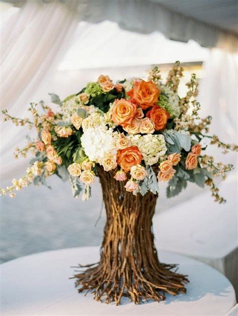 10 Lovely Fall Wedding Centerpieces B Lovely Events Wedding Fall Centerpieces