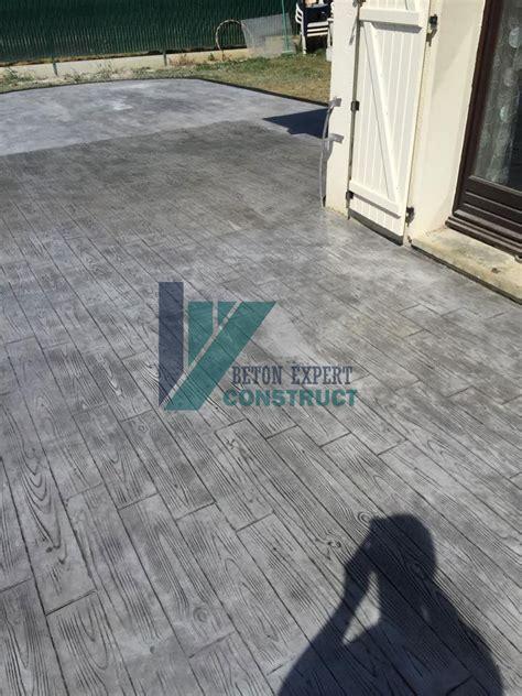 Terrasse Beton Imitation Bois 1301 by Beton Expert B 233 Ton Imprim 233 Informations Pour B 233 Ton