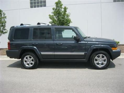 how to sell used cars 2007 jeep commander free book repair manuals sell used 2007 jeep commander limited in 8867 east highway 36 avon indiana united states for