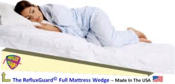 mattress bed wedge for acid reflux gerd reflux guard