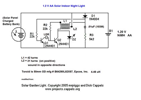 Solar Light Schematic Solar Xtreme Light Wiring Diagram Wiring Diagram With
