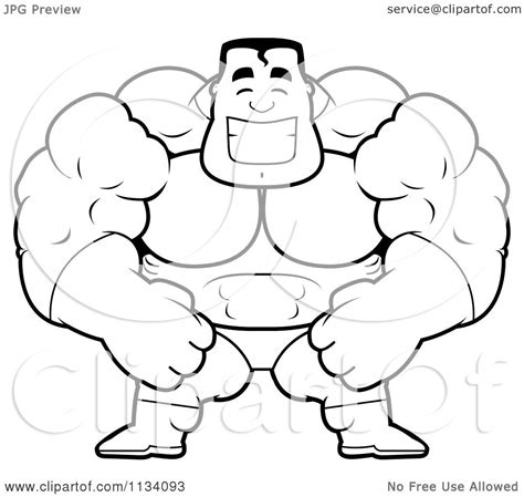 printable regular show mucle man coloring pages muscleman free colouring pages