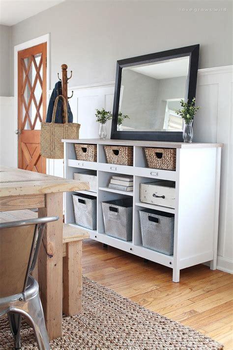rental home decor 25 best ideas about storage baskets on