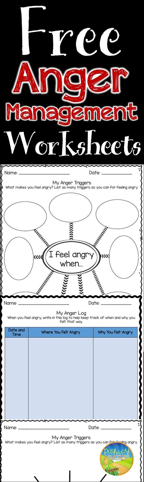 printable anger management activities 28 best anger management activities for kids images on
