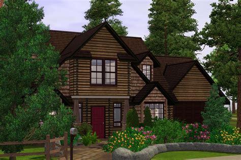 craftsman cabin mod the sims craftsman cabin